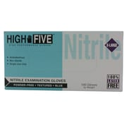 High Five Products Inc Powder Free Nitrile Gloves, XL, 1000/Case