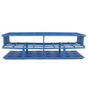 Nalge Nunc International Corp Test Tube Rack, Blue, 24 Place