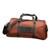 Bellino 22'' The Italian Carry-On Duffel; Rust