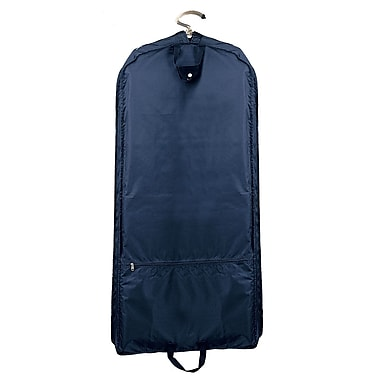 Preferred Nation Quick Trip Extra Wide Garment Bag I; Navy