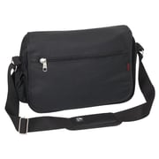 Everest Casual Messenger Bag; Black