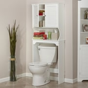 RiverRidge Home Products Ellsworth 27.36'' x 63.75'' Over the Toilet Cabinet; White