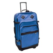 Preferred Nation Outdoor Gear 30'' Upright Suitcase; Blue