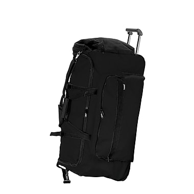 Preferred Nation Outdoor Gear 30'' 2-Wheeled Travel Duffel; Black