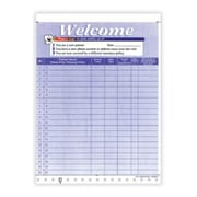 Medical Arts Press Designer Privacy Sign-In Sheets, Happy Tooth