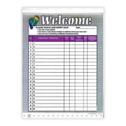 Medical Arts Press Designer Privacy Sign-In Sheets, Two Feet