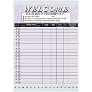Medical Arts Press Privacy Sign-In Sheet, Purple