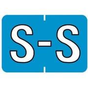 "MAP Barkley & Sycom Compatible Alpha Sheet Style Labels, ""S"""
