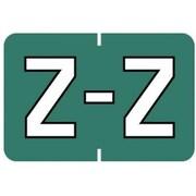 "MAP Barkley & Sycom Compatible Alpha Sheet Style Labels, ""Z"""