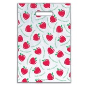 Small Scatter-Print Supply Bags, Heart Apple