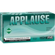 Applause Synthetic Powder-Free Exam Gloves, Medium