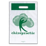 "Chiropractic Non-Personalized 1-Color Large Supply Bags, ""Strength-Wellness-Flexibility"""