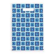 Large Scatter-Print Supply Bags, Eye Blocks