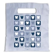 Dental Non-Personalized Large 1-Color Supply Bags, Tooth Quilt