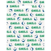 Large Scatter-Print Supply Bags, Smile