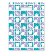Large Scatter-Print Supply Bags, Floss/Toothbrush/Paste
