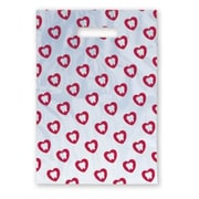 Large Scatter-Print Supply Bags, Tooth in Heart