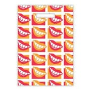 Large Scatter-Print Supply Bags, Many Smiles