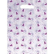 Jumbo Scatter-Print Supply Bags, Frisky Pets