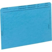 MAP File Pockets with Printed Patient Grid, Dark Blue