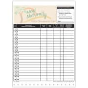 Medical Arts Press Designer Privacy Sign-In Sheets, Palm Tree