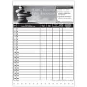 Medical Arts Press Designer Privacy Sign-In Sheets, Balanced Rocks