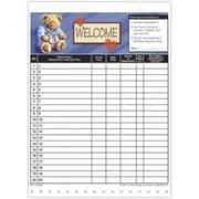 Medical Arts Press Designer Privacy Sign-In Sheets, Doctor Bear