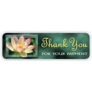 Soft Collection Pre-Printed Labels, Thank You, 0.75 x 2.5 inch, 300 Labels