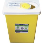 Chemotherapy Sharps Containers 8 Gallon, Hinged Lid