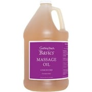 Soothing Touch Basics Unscented Massage Oil, Gallon