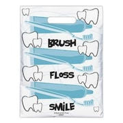 Small Scatter-Print Supply Bags, Brush Floss