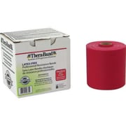 Thera-Band Latex-Free Exercise Bands 25 Yard Roll, Medium, Red