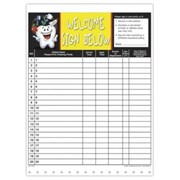 Medical Arts Press Designer Privacy Sign-In Sheets, Tooth Guy
