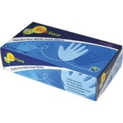 BeeSure Nitrile Powder-Free Gloves, Medium