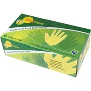 BeeSure Latex Powder-Free Gloves, Large