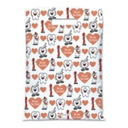 Large Scatter-Print Supply Bags, Smile Team, We Love Your Smile