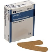 Curity Adhesive Bandages, Flexible Fabric, Sterile, 1 x 3 inch