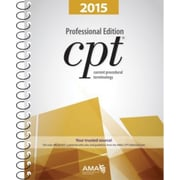 AMA CPT Code Books, Professional, Spiral Bound, 2015