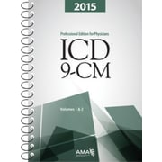 AMA 2015 ICD-9-CM Professional Edition for Physicians, Vols 1 and 2