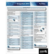 AMA ICD-10 Snapshot 2015 Coding Cards, Psychiatry
