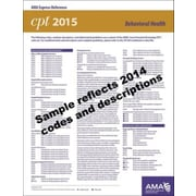AMA 2015 Express Reference Coding Cards for CPT, Behavioral Health