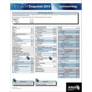 AMA ICD-10 Snapshot 2015 Coding Cards, Gastroenterology