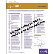 AMA 2015 Express Reference Coding Cards for CPT, Dental