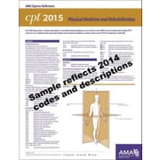 AMA 2015 Express Reference Coding Cards for CPT, Physical Therapy