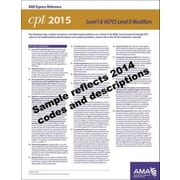 AMA 2015 Express Reference Coding Cards for CPT, Modifiers
