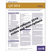 AMA 2015 Express Reference Coding Cards for CPT, Pediatrics