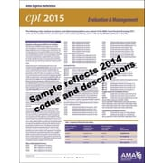 AMA 2015 Express Reference Coding Cards for CPT, E/M