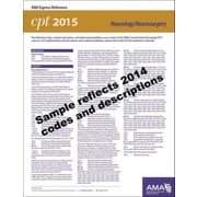 AMA 2015 Express Reference Coding Cards for CPT, Neurology/Neurosurgery