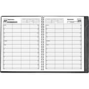 MAP Brand 4-Column Daily/Monthly Appointment Book Planner, 8.5 x 11 inch, 2016