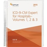 Ingenix OPTUM ICD-9-CM Expert for Hospitals and Payers, Vol. 1, 2 and 3, 2015